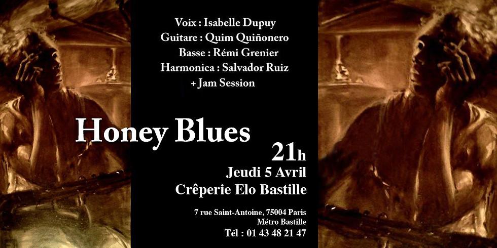 Honey Blues Chez Elo