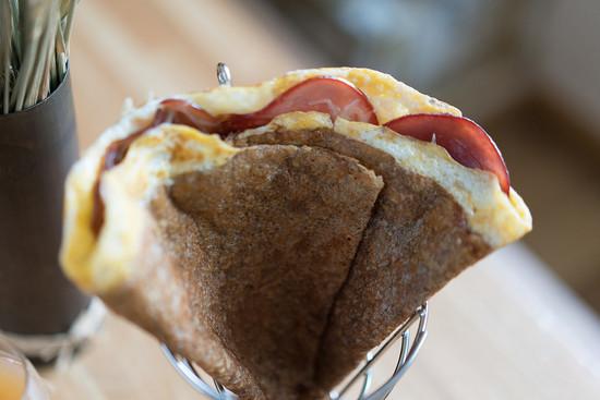 La Galette Complète Bacon