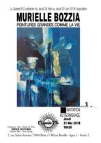 Exposition Murielle Bozzia Juin 2018