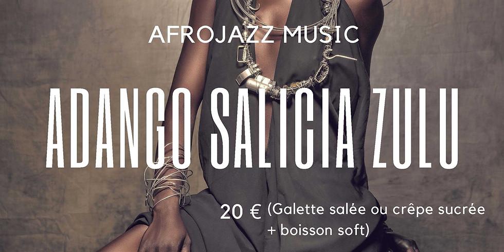 AFROJAZZ MUSIC ADANGO SALICIA ZULU