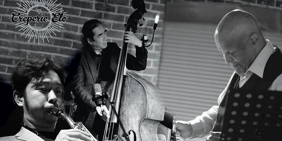 Monday's Elo JAM Session en trio avec Daisuke au Saxo en invité