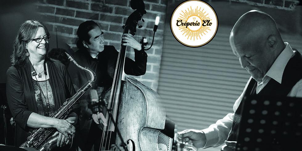 Monday's Elo Jam Session en trio avec Debbie Keefe Johns au Saxo