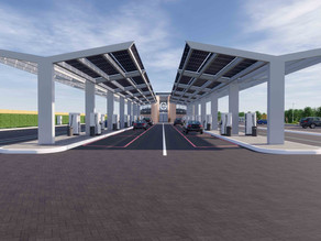 UK's first Electric Forecourt® is under construction, opening Autumn 2020