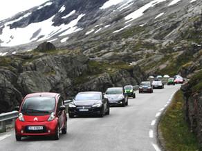 Norway takes the 2018 EV world record