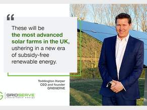GRIDSERVE Heralds Subsidy Free Solar