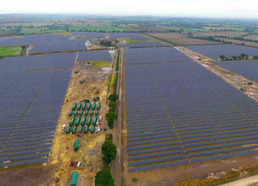 GRIDSERVE complete game changing hybrid solar farm