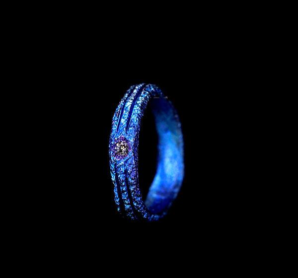 fede in titanio diamante milano