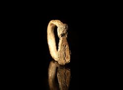 Anello in argento, rame e ferro