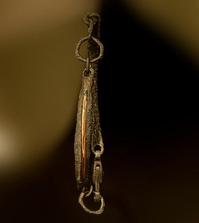 Bracciale in argento 925 e rame