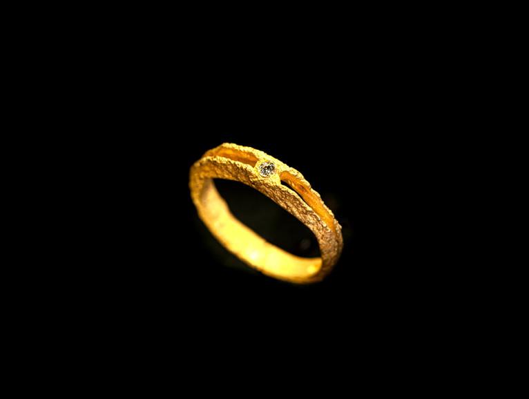 oro muto giallo 18 kt