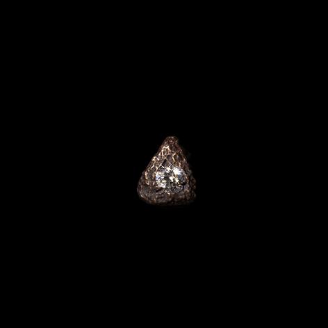 Orechino in oro e diamante