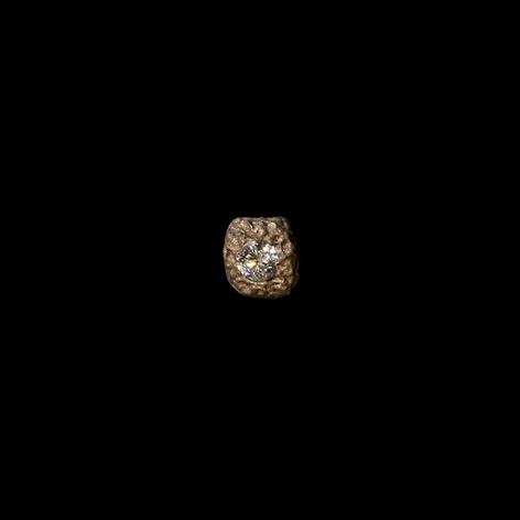 Orecchino in oro e diamante