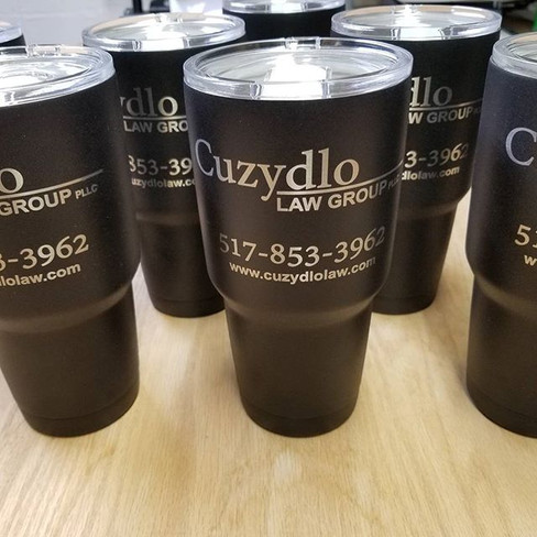 More stainless steel tumblers shipping o
