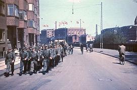 Tyske soldater forlader København