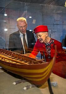 HM Dronningen med Thomas Tram Pedersen