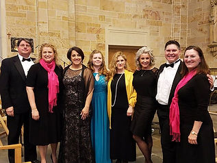 The wonderful soloists from the OPERA CO