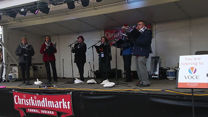 VOCE sings @ the 2018 Christkindlmarkt
