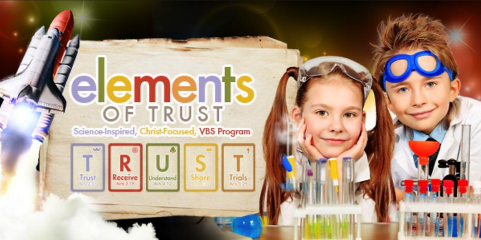 Vacation Bible School 2021: Elements of TRUST