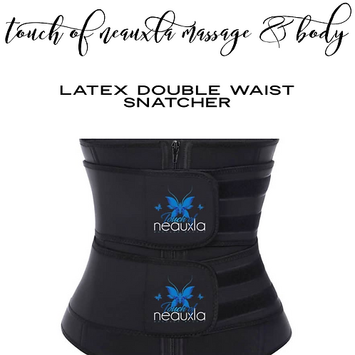 Latex Double Waist Snatcher