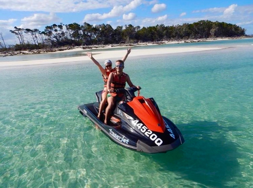 Things to do in Hervey Bay - jetski tours