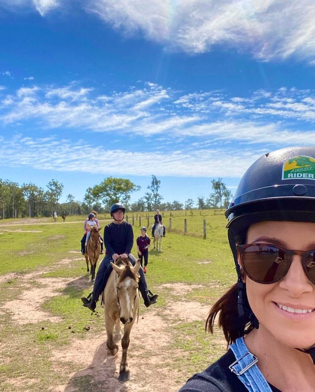 Things to do in Hervey Bay - horse riding