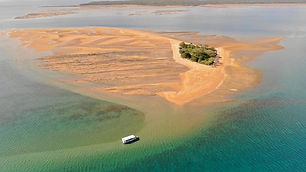 Round Island Hervey Bay cruises