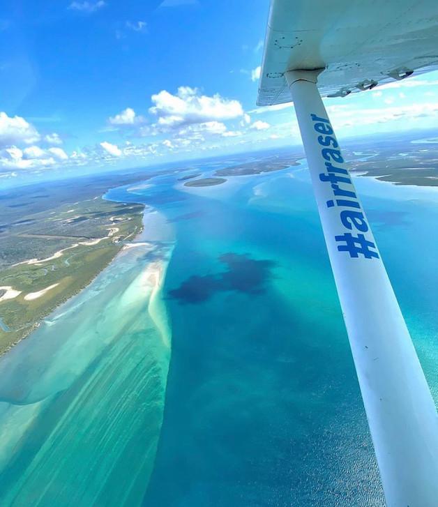 Fraser Island tours from Hervey Bay - Air Fraser Island