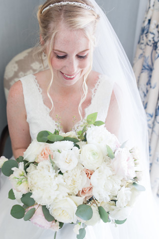 Blush Rose Weddding at Saybrook Point Inn & Spa