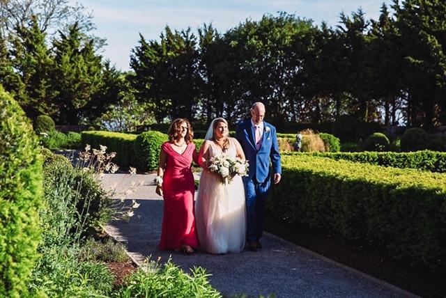 Wedding ceremomy at Eolia Mansion