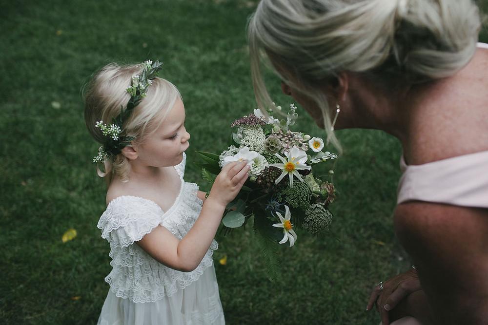Flower girl mini bouquet