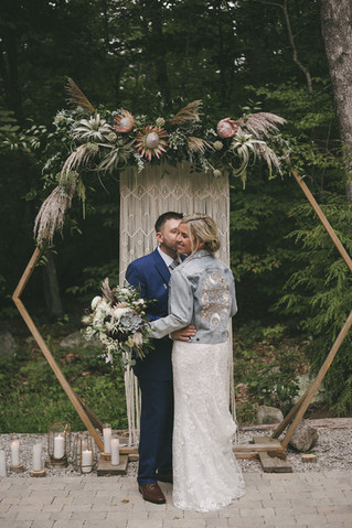 Chic + Rustic White Wedding at Chatfield Hollow Inn