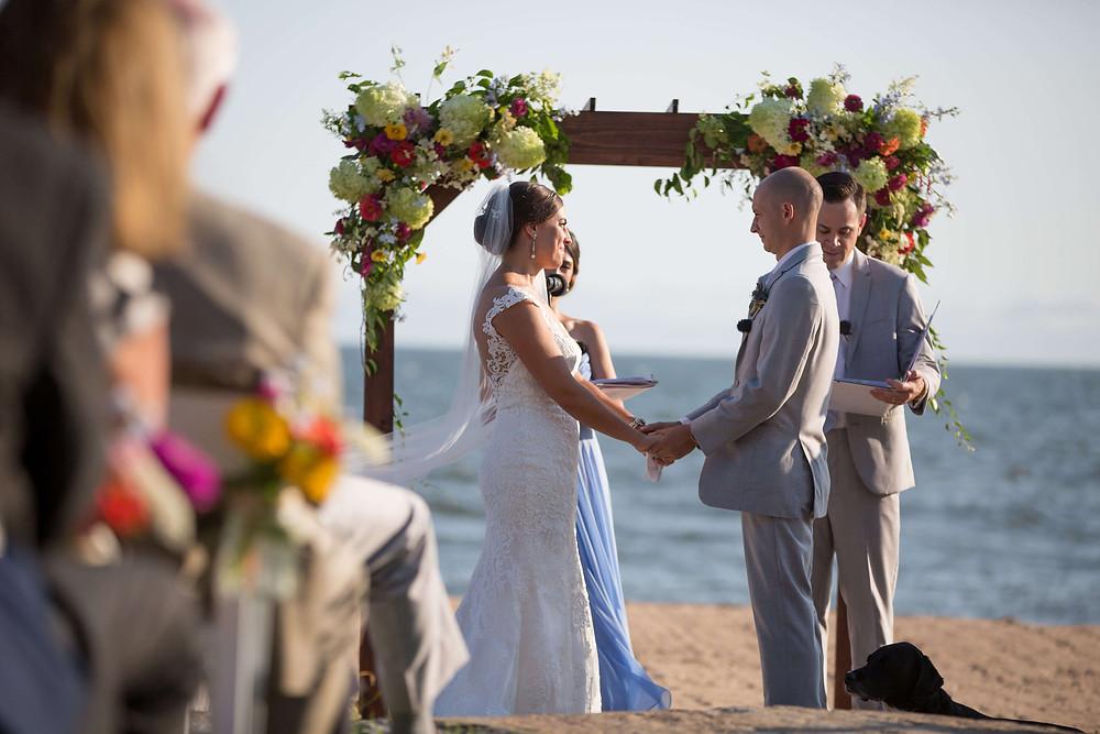 Wedding ceremony at Madison Beach Hotel