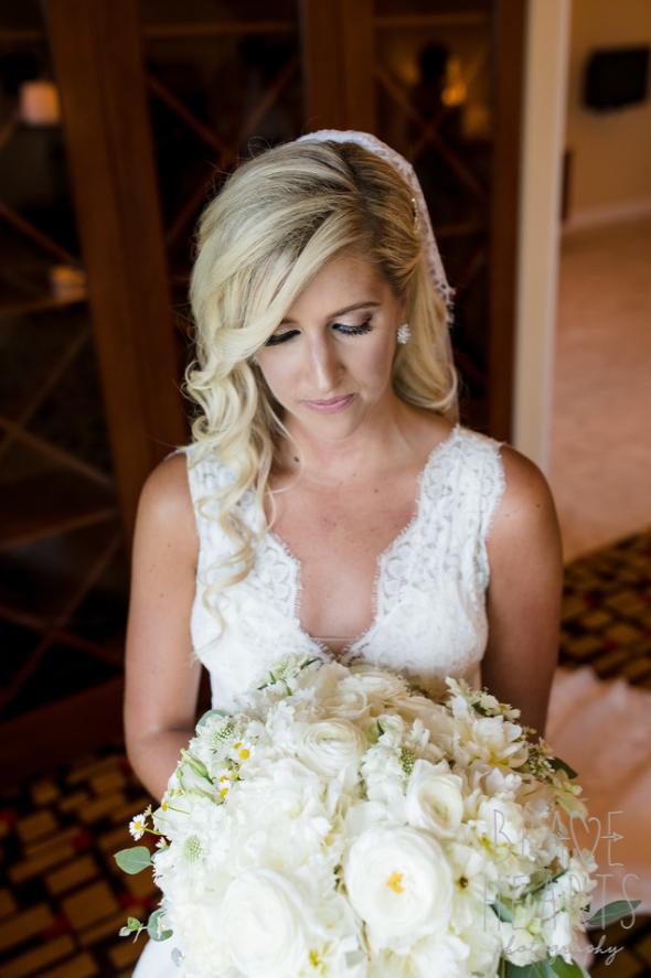 Wedding bouquet at Foxwoods Hotel