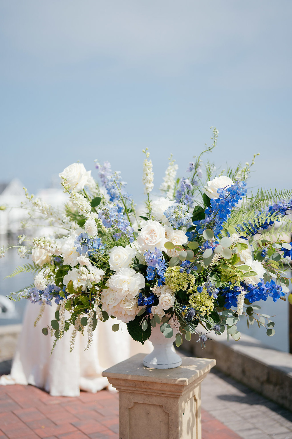 Ceremony flower at Saybrook Point Inn & Spa