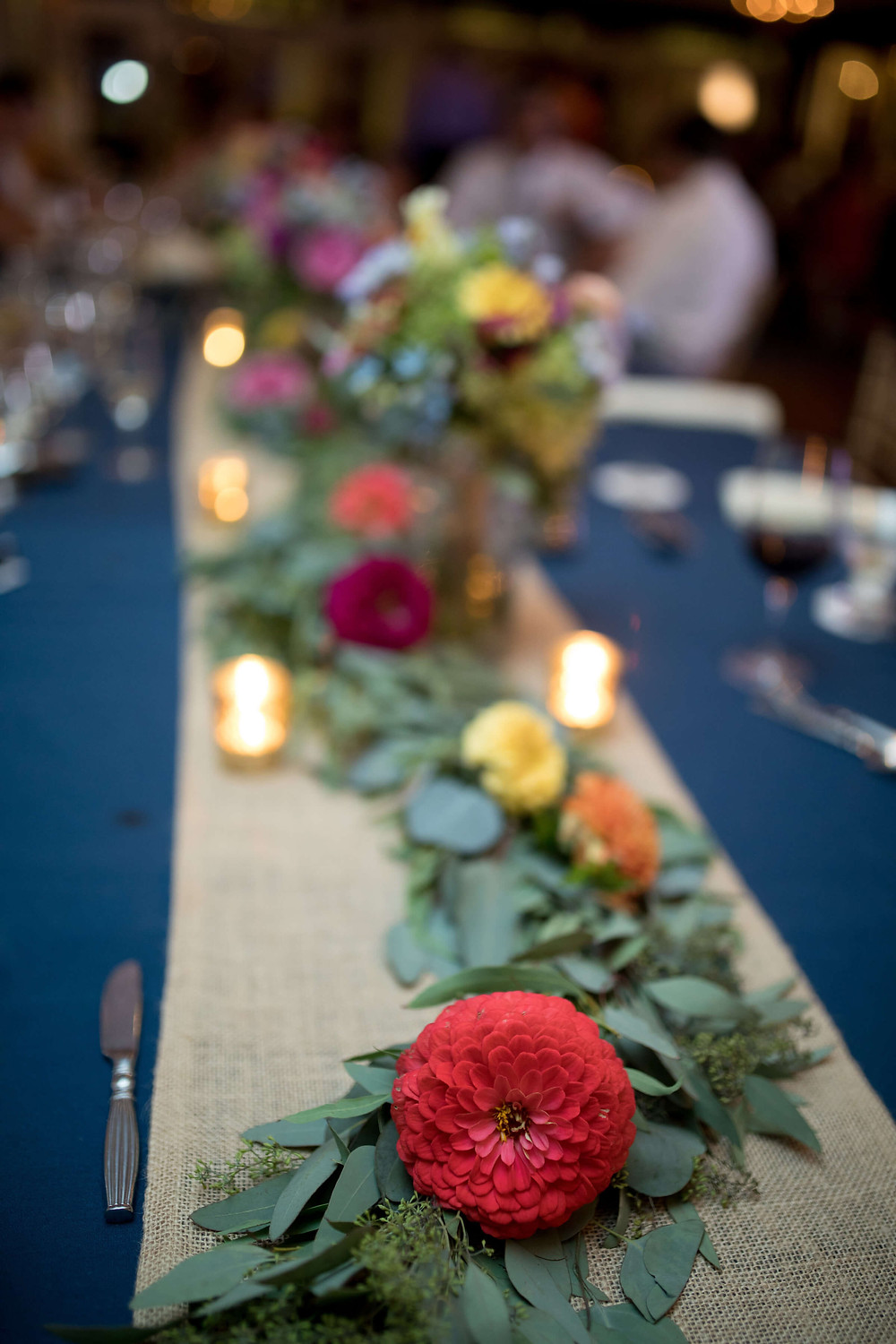 Garland for the head table