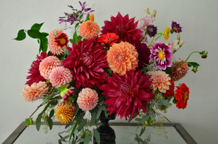 Dahlias is a perfect flowers for Fall Weddings & Events!