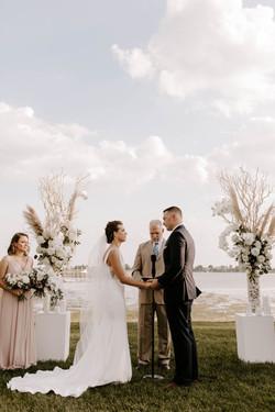 Romantic Wed at Longshore - Westport