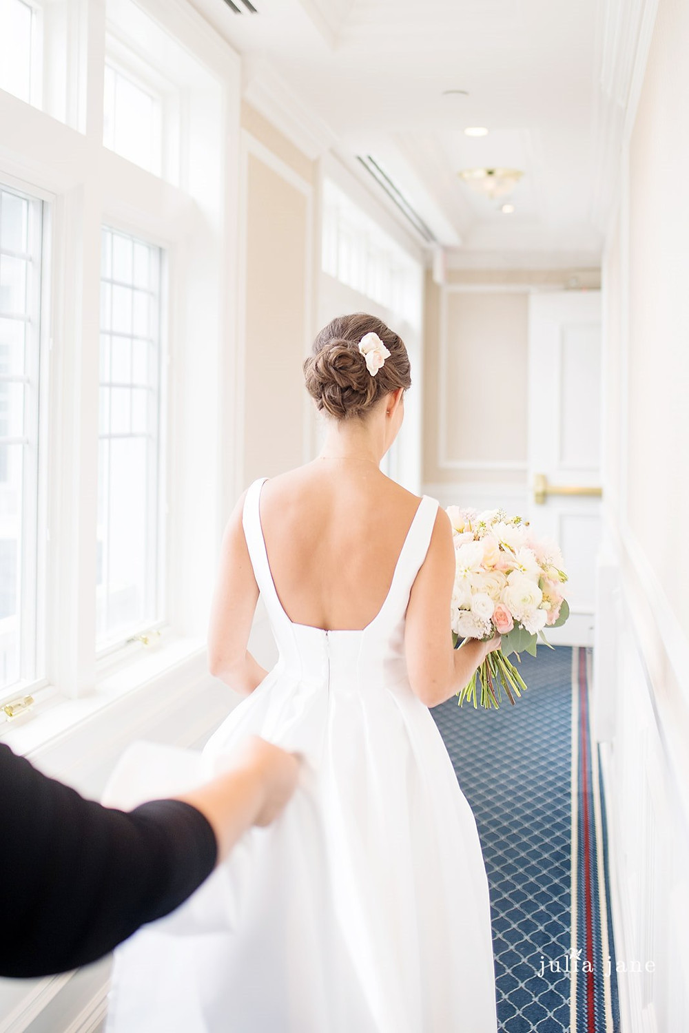Summer beach wedding at Madison Beach Hotel