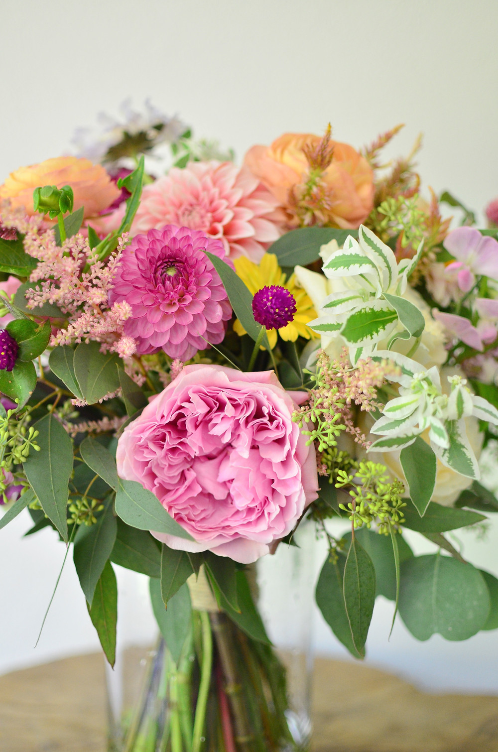 Colorful Summer Wedding at Madison Beach Hotel | Wedding bouquet