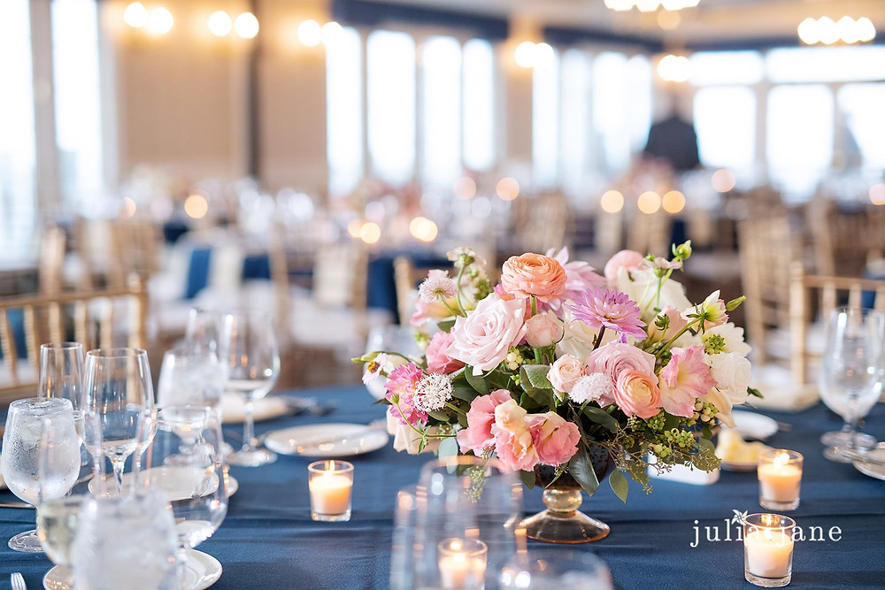 Centerpieces at Madison Beach Hotel