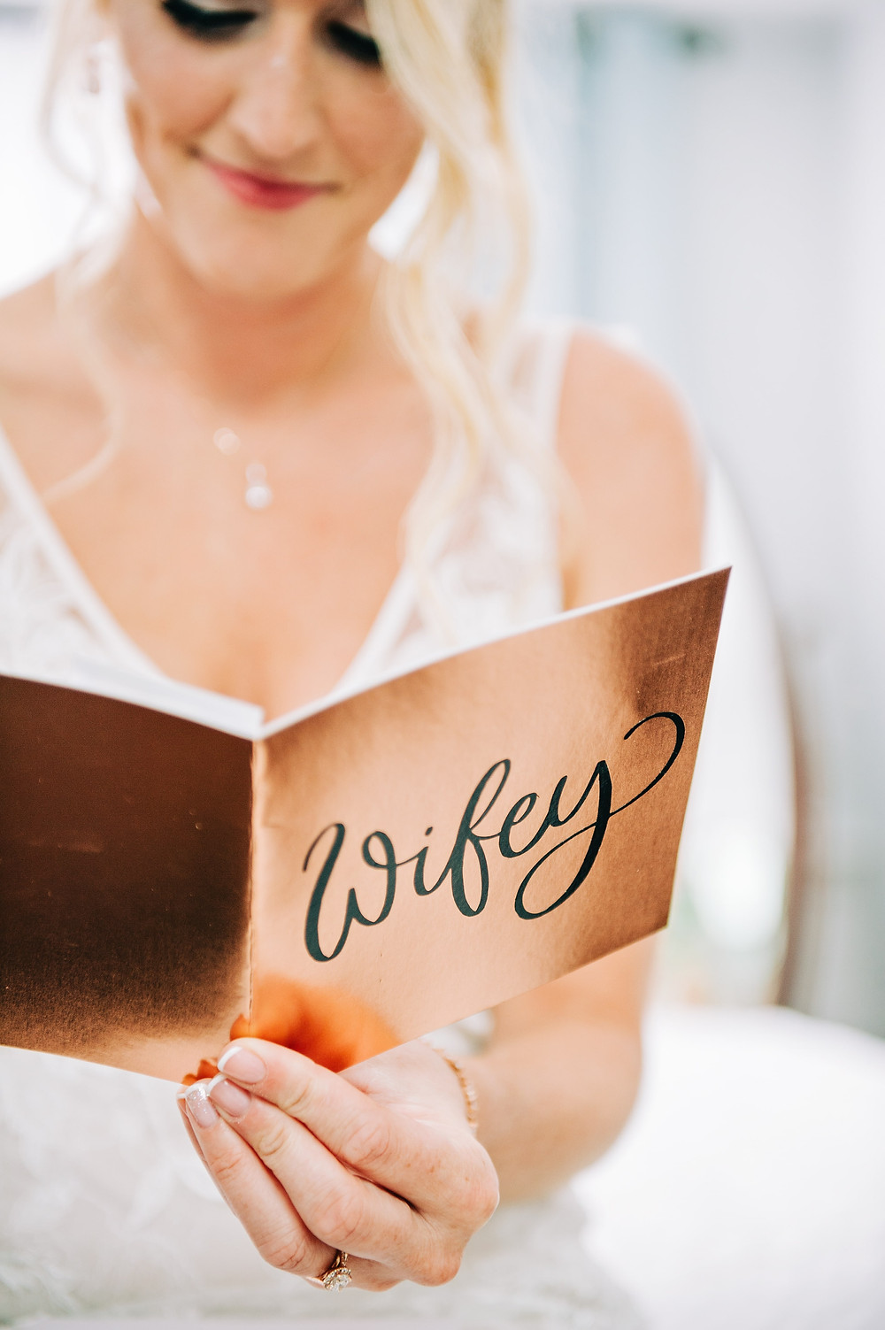Letter from Groom to Bride