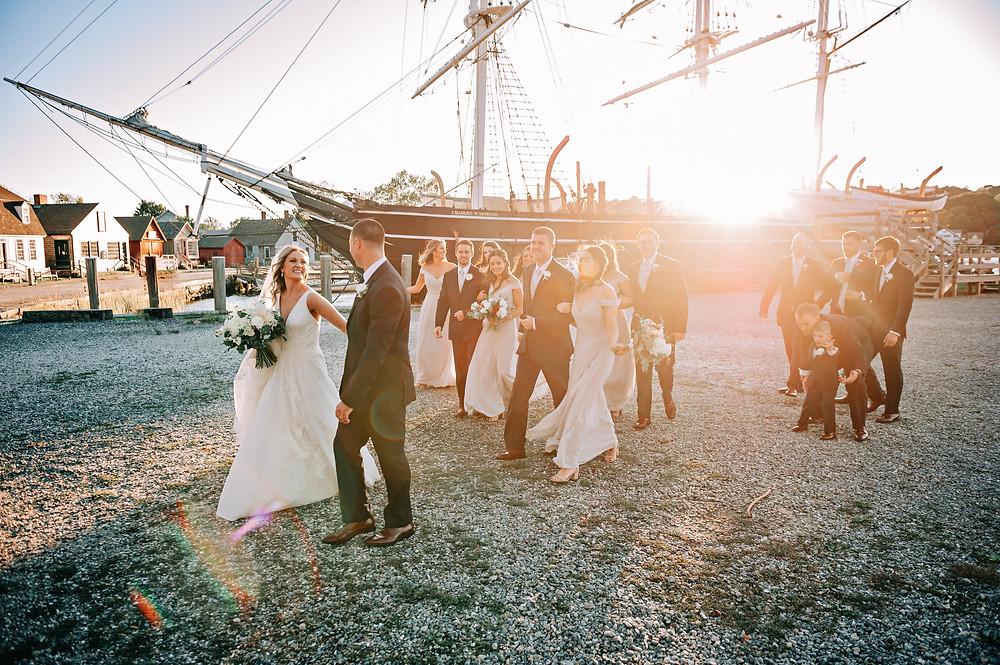 Mystic seaport wedding at Latitude 41