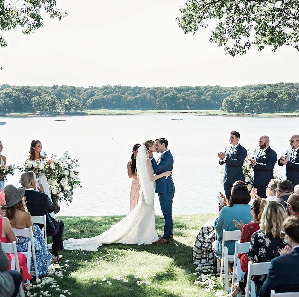 Wedding ceremony at Wainwright House