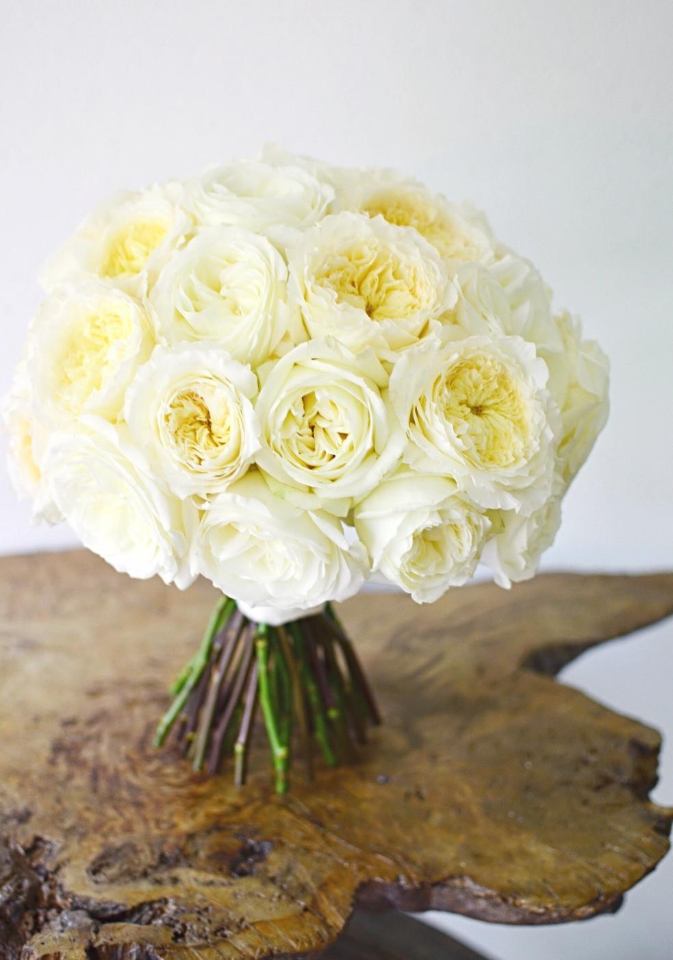 Blush Summer Wedding at The Barns | Wedding bouquet