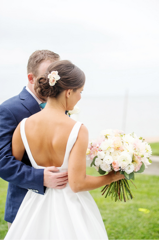Classic Beach Wedding at Madison Beach Hotel