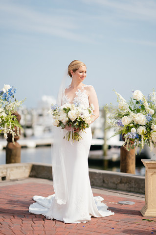 June Wed with Peony + Something Blue at Saybrook Point Inn & Spa