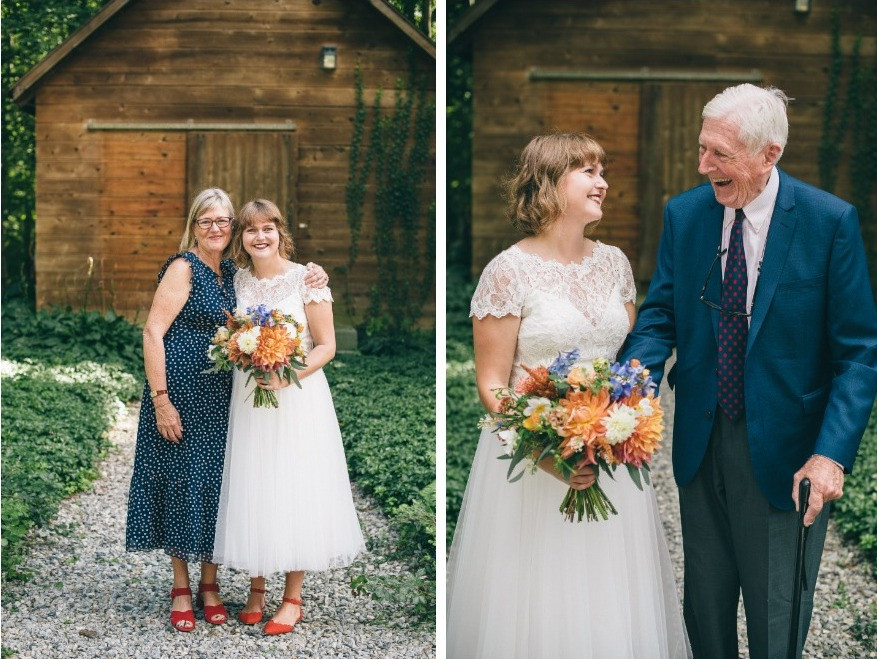 Cacual Cheerful Wedding at Chatfield Hollow Inn