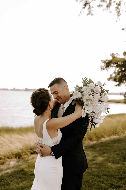 Summer wedding at The Inn at Longshore