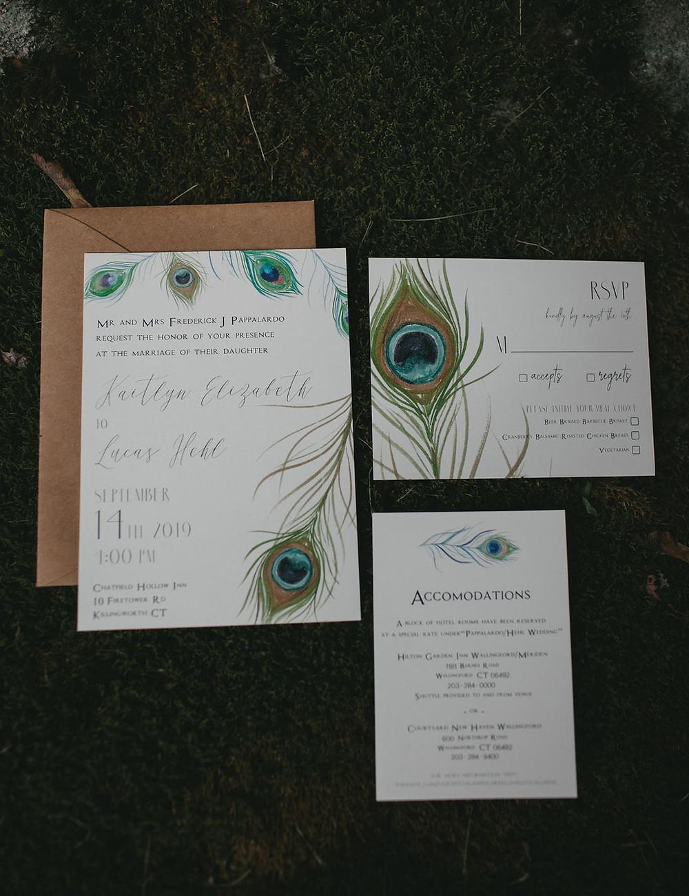 Wedding invitaion cards