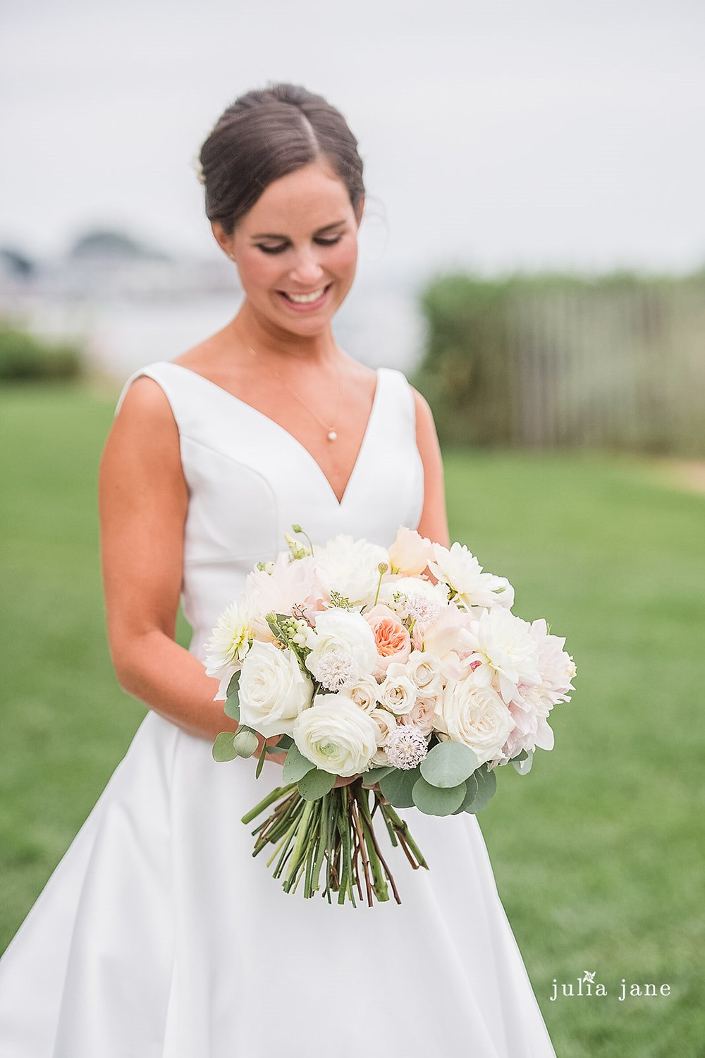 Classic style wedding bouquet at Madison Beach Hotel